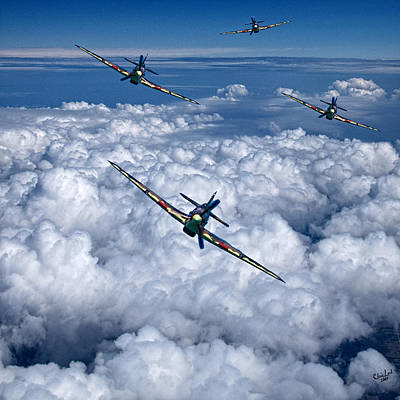 Photograph - Hurricanes On Your Tail by Chris Lord