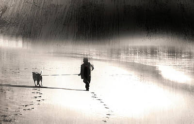 Art Print featuring the photograph Hurry Home by Gray  Artus