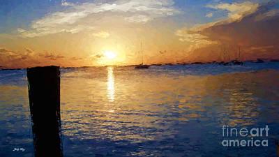 Painting - Hurry Sundown by Judy Kay