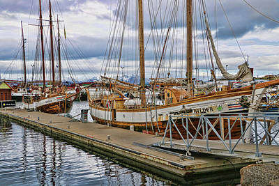 Photograph - Husavik Harbor by Allen Beatty