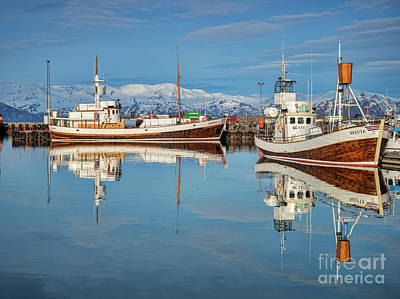 Photograph - Husavik Harbour, Iceland by Colin and Linda McKie