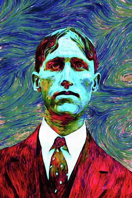 Digital Art - Husband by Matt Lindley