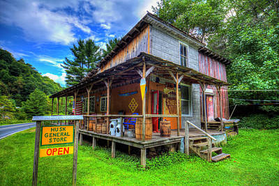 Photograph - Husk General Store by Dale R Carlson