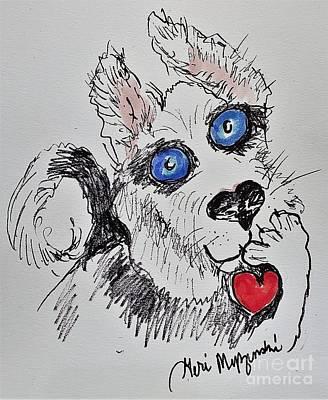 1920s Flapper Girl - Husky Love by Geraldine Myszenski