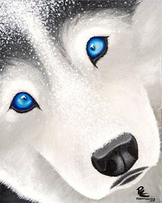 Husky1 Original by Richard Cloutier