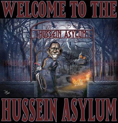Photograph - Hussein Assylum by Don Olea