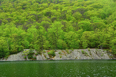 Photograph - Hussein Lake In Bear Mountain State Park by Raymond Salani III