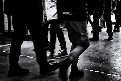 Photograph - Hustle And Bustle by Karen Stahlros