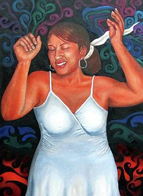 Painting - Hustle And Flow by Alima Newton