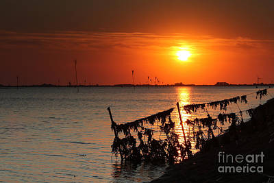 Husum Sunset Art Print
