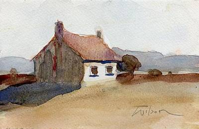 Painting - Hut by Ron Wilson