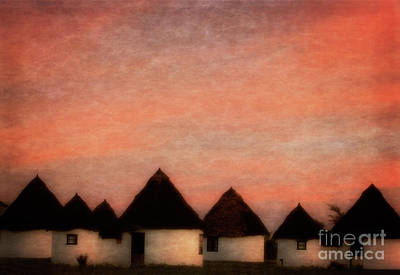 Photograph - Huts by Scott Kemper