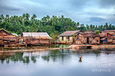 Photograph - Huts1  by Charuhas Images