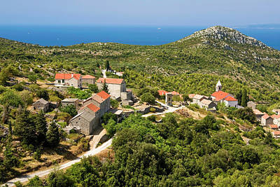 Photograph - Hvar Croatia Overview by Sally Weigand