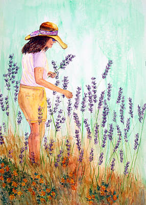 Painting - Hvar Lavender by Patricia Beebe