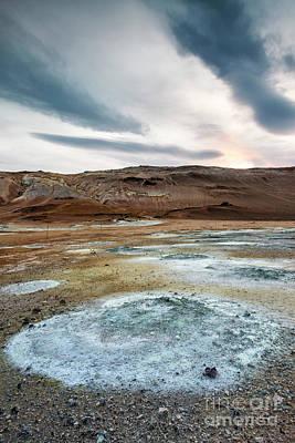Photograph - Hverir Iceland by Gunnar Orn Arnason