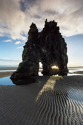 Photograph - Hvitserkur by Arterra Picture Library
