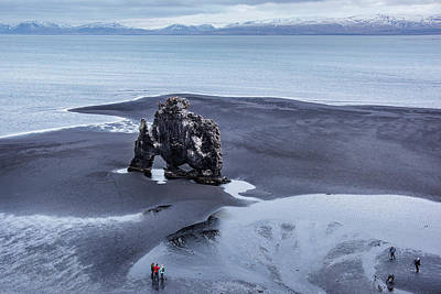 Photograph - Hvitserkur - North Iceland by Pradeep Raja PRINTS