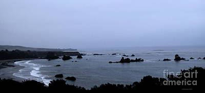 Photograph - Hwy 1 San Simeon by Nancy Chambers