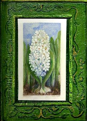 Wall Art - Painting - Hyacinth by Elle Smith Fagan