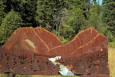 Photograph - Hyalite Canyon Sculpture by Scott Carlton