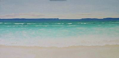 Painting - Hyams Beach by Anne Gardner