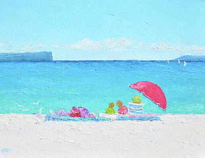Painting - Hyams Beach Jervis Bay by Jan Matson