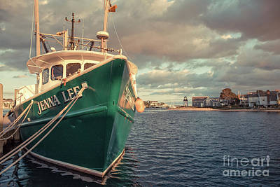 Photograph - Hyannis Harbor Cape Cod Massachusetts by Edward Fielding