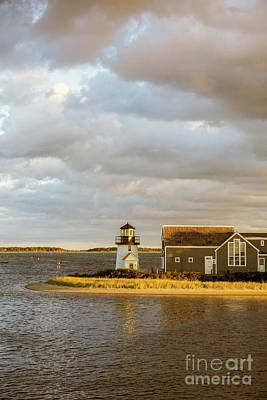 Photograph - Hyannis Harbor Lighthouse by Edward Fielding