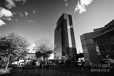 Hyatt Regency Hotel And Centenary Square Birmingham Uk Art Print
