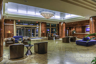 Photograph - Hyatt Waterfront Hotel 2 by David Zanzinger