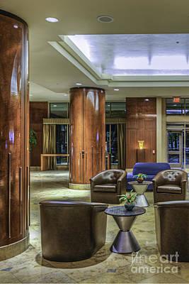 Photograph - Hyatt Waterfront Hotel Vertical 2 by David Zanzinger