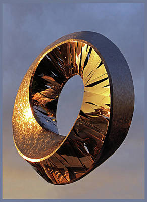 Photograph - Hybrid Circle Sunset by Christopher McKenzie