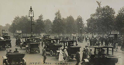 Hyde Painting - Hyde Park Corner by Herbert Green