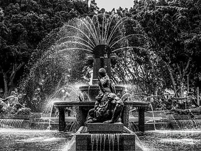 Photograph - Hyde Park Fountain by Lexa Harpell