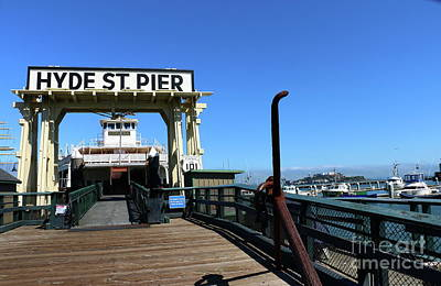 Photograph - Hyde St Pier San Francisco by Christiane Schulze Art And Photography