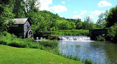 Photograph - Hyde's Mill by Tiffany Erdman