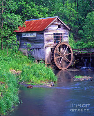 Photograph - Hyde's Mill_33mt by Doug Berry
