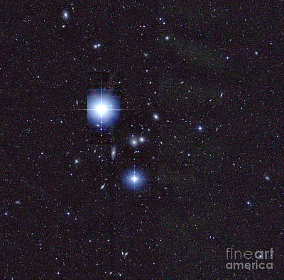 Hydra Cluster, Abell 1060 Print by Science Source