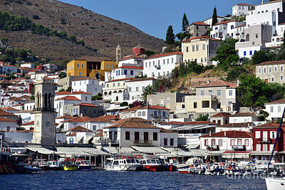 Photograph - Hydra Island In Greece by George Atsametakis