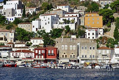 Photograph - Hydra Island In Greece Vi by George Atsametakis
