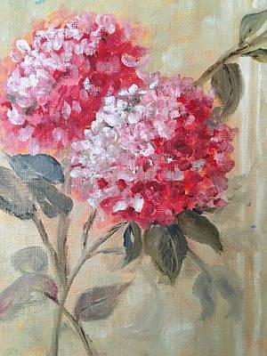 Painting - Hydranga by Sharon Schultz