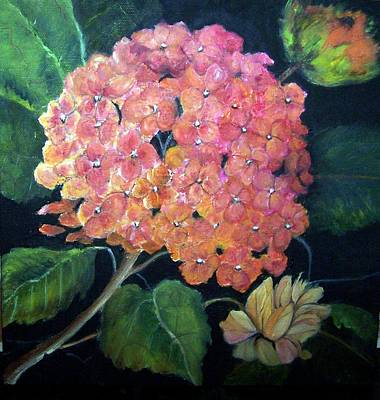 Painting - Hydrangea   Sold by Susan Dehlinger