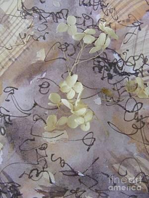 Mixed Media - Hydrangea Heaven by Nancy Kane Chapman