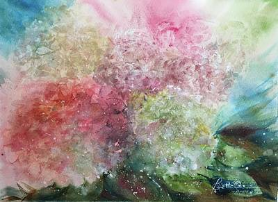Painting - Hydrangea Medley by Bette Orr