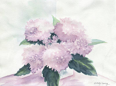Painting - Hydrangea by Melly Terpening
