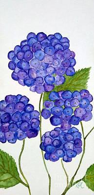 Painting - Hydrangea by Reina Resto