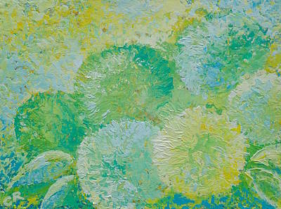 Painting - Hydrangea Sunrise by Chris Rice