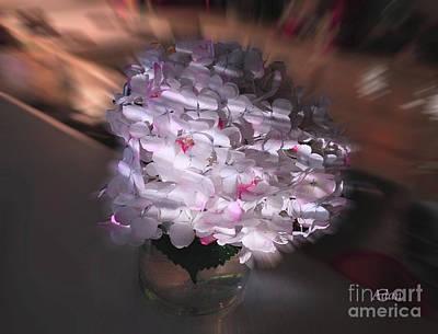 Photograph - Hydrangea Swirl by Felipe Adan Lerma
