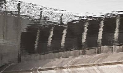 Hydro Dam Number One Art Print by Michael Rutland